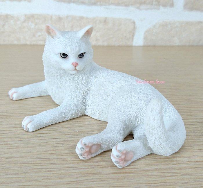 點點蘑菇屋 歐洲精品白貓咪擺飾 貓掌 貓肉墊 貓肉蹼 珍藏可愛動物家飾 禮物 鄉村風雜貨 現貨