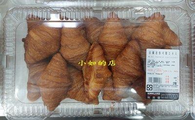 【小如的店】COSTCO好市多代購~法國迷你可鬆/奶油可頌麵包(每盒28入/共685g)