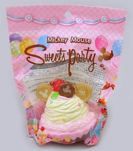 極上日貨 最新 日本 NIC 迪士尼 正版 米奇造型甜點塔 Squishy 軟軟 日本境內版  3款 現貨
