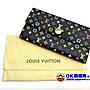 【OK質借所-萬泰當舖】Louis Vuitton黑彩長夾~15800元-95成新唷~~超低價要買要快~~