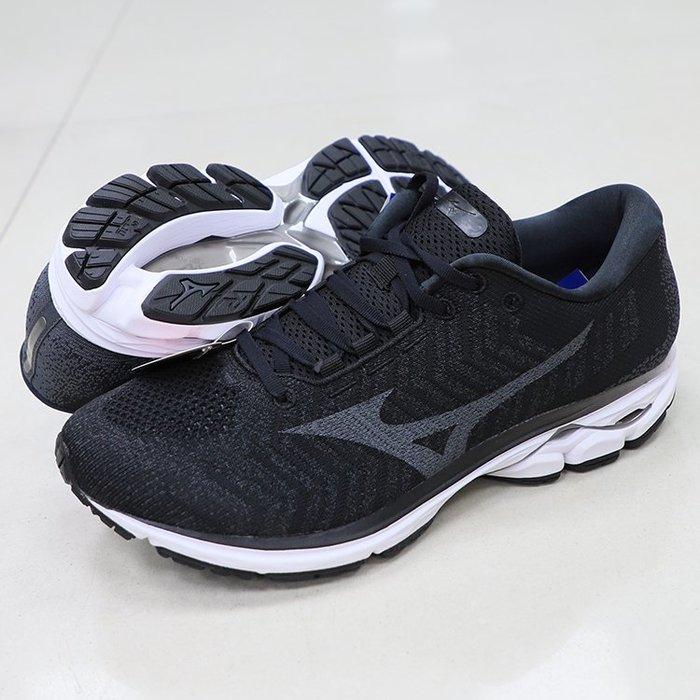 * 世偉體育 *MIZUNO J1GC193109 WAVE RIDER WAVEKNIT 3 SW 超寬楦 男款慢跑鞋