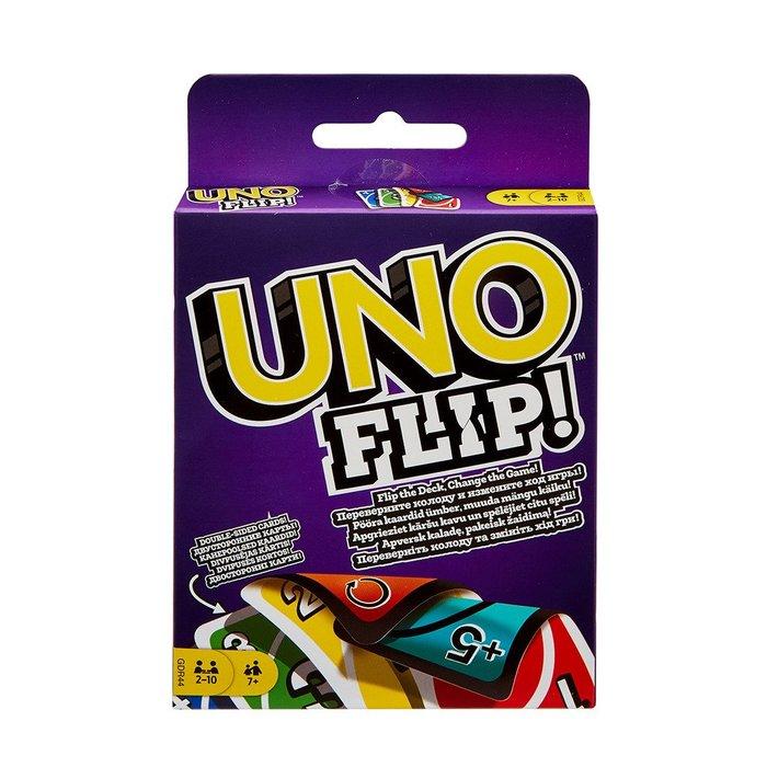 骰子人桌遊-(特價)反轉UNO遊戲卡Uno Flip(繁)顛倒