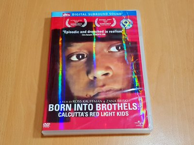 正版 奧斯卡最佳紀錄片 生於紅燈區BORN INTO BROTHELS:CALCUTTA'S RED LIGHT KID