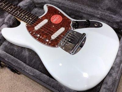 大鼻子樂器 Squier 電吉他 Vintage Modified Mustang 音速藍