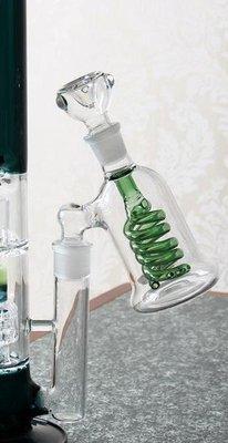 菸壺外接過濾器 玻璃水煙斗 玻璃水煙壺 玻璃水菸壺 水煙壺 冰架 水煙斗