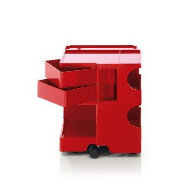Luxury Life【正品】B-Line Boby 巴比 多層式系統 收納推車 - 中尺寸 (雙抽屜收納) 紅色款