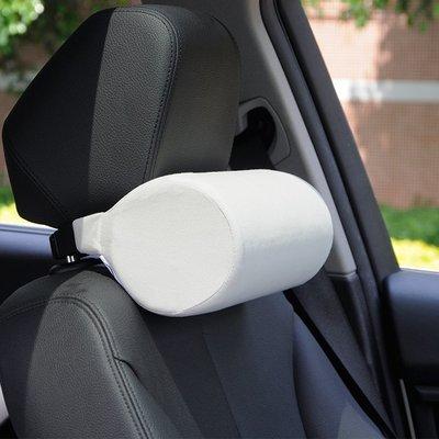 [免運]汽車圓柱頭枕車用護頸枕頭靠枕駕...