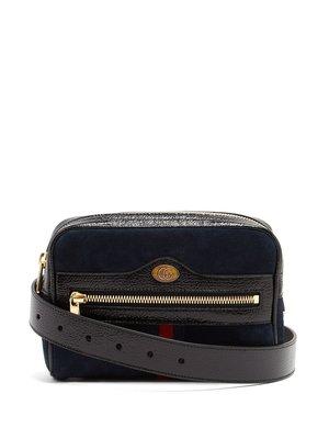 Gucci Ophidia suede belt bag 腰包胸口包 ~ 29800