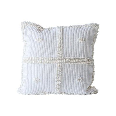 【Eze Art Deco】美國設計師傢飾,美式鄉村米白色方形抱枕 靠枕/抱枕/靠墊/枕頭/腰枕 送禮民宿擺飾居家
