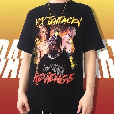 美國進口 饒舌歌手 XXXTentacion 紀念 短T 嘻哈 饒舌 HIP HOP RAP 黑白黃3色 尺寸:S~2XL