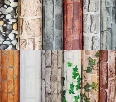 【3C創意生活館】墻磚磚塊壁紙磚頭墻貼...