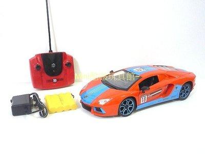 Mini酷啵玩具館~1/16 1:16仿真外型 LP700 藍寶堅尼遙控車 充電版全配 車門-後蓋 可遙控開關~