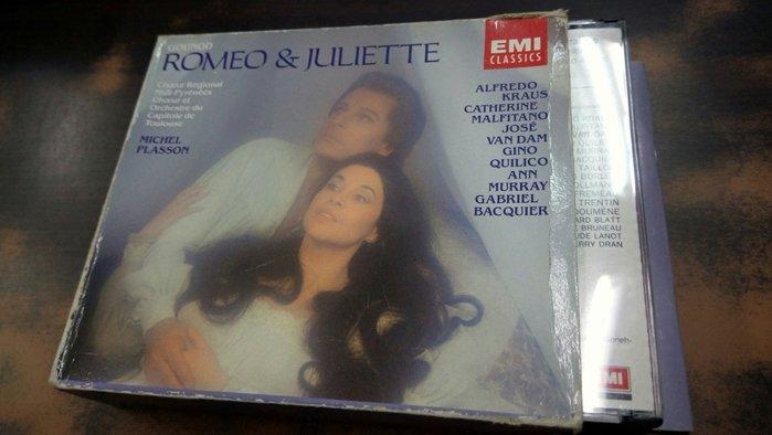 好音悅 Plasson Kraus Gounod 古諾 Romeo & Juliet 3CD EMI 法版 無IFPI