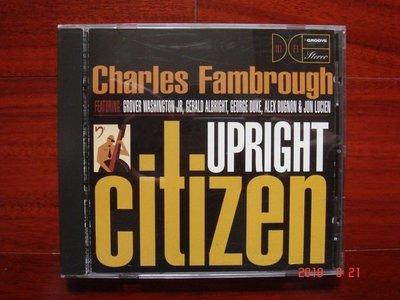 Charles Fambrough / Upright Citizen《進口版二手CD》