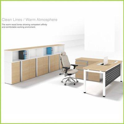 【OA批發工廠】GAMMA 系統主管桌 ㄇ字腳桌 開放式辦公桌 SOHO族電腦桌 簡約現代設計 客製品需先詢價