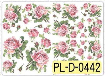 波蘭 Decoupage Paper(專用紙)A3編號PL-D-0442~蝶古巴特 餐巾紙拼貼 彩繪 黏土DIY手作材料