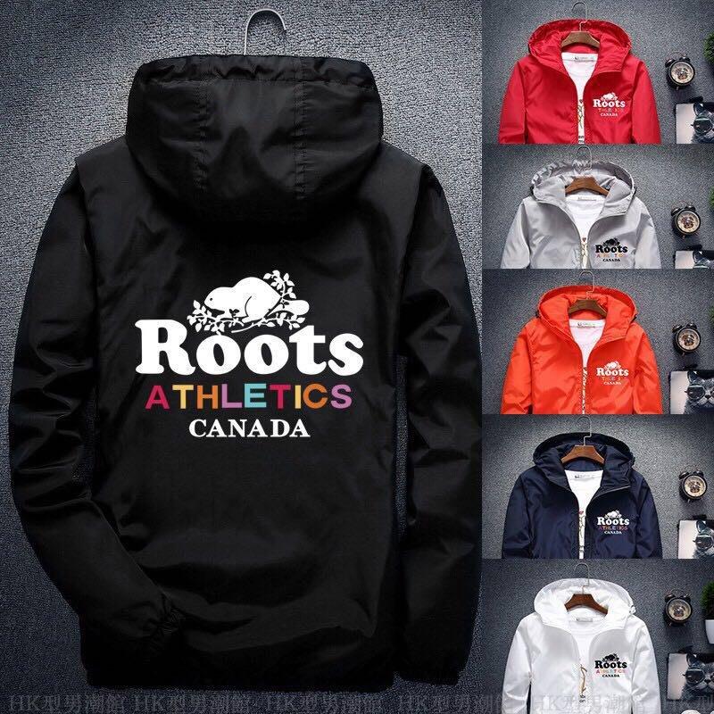 單件免運 Roots海狸外套 連帽外套 風衣外套 大碼胖子外套 男女款 情侶裝  S-7XL碼