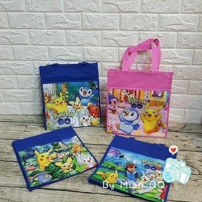 。~ Mian QQ ~。寶可夢 神奇寶貝 手提袋 / 購物袋 / 才藝袋 / 補習袋 / 便當袋 / 餐具袋