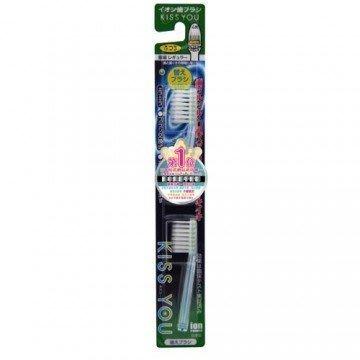 日本KISS YOU 負離子輕巧極細型替換牙刷(替換刷頭) H-31/H-32 顏色多款隨機出