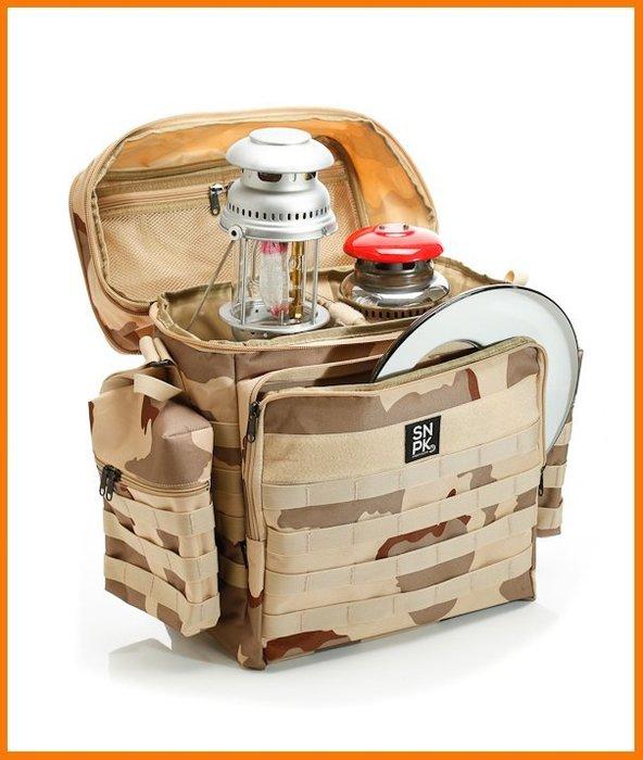 高磅數美國 狙擊者 SNPK 汽化燈 收納袋 1+2工具袋 petromax hasag optimus coleman