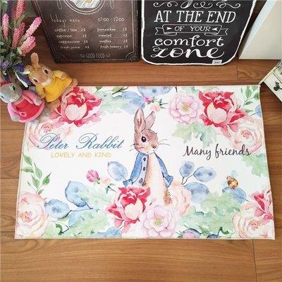 可愛 彼得兔 法蘭絨地墊