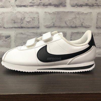 [歐鉉]NIKE CORTEZ BASIC SL 黑白 OG 阿甘鞋 阿甘 中童 男女鞋 904767-102