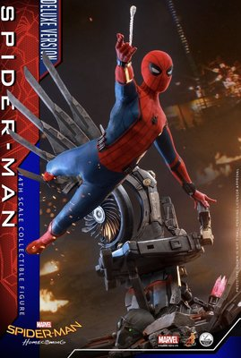 Hottoys hot toys1/4 Spider man 蜘蛛俠(動漫訂單 homecoming (deluxe version)