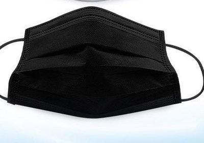 成人四層黑色口罩 口罩 黑色口罩