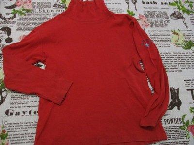 二手童裝出清--紅色長袖上衣