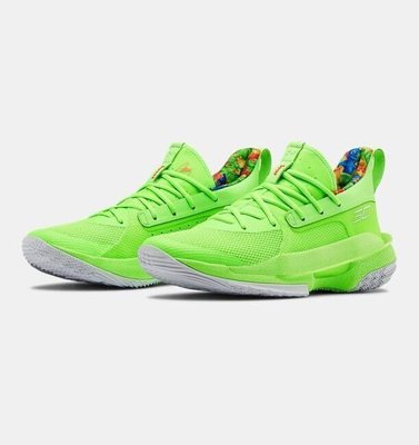 UNDER ARMOUR Curry 7  四色 3021258-100 40-46
