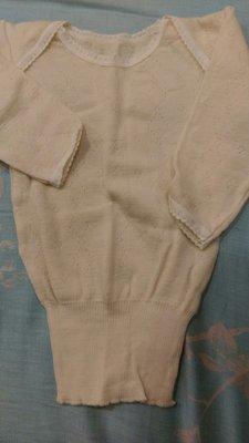 (二手)嬰兒羊毛衣 羊毛內衣 衛生衣 長袖.背心 出生到一歲以下