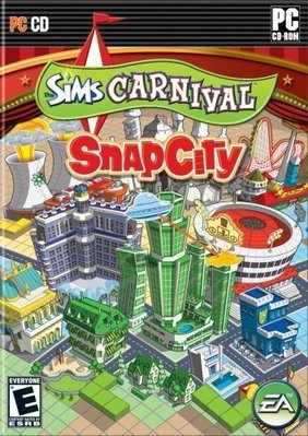[哈GAME族] PC GAME 城市大亨 Sims Carnival:SnapCity 英文版 即將售完