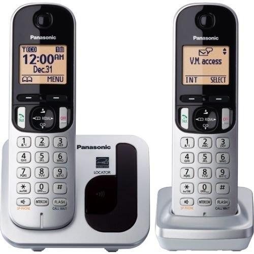 【送吹風機】 Panasonic 國際牌數位DECT 無線電話 KX-TGC212TW (松下公司貨)