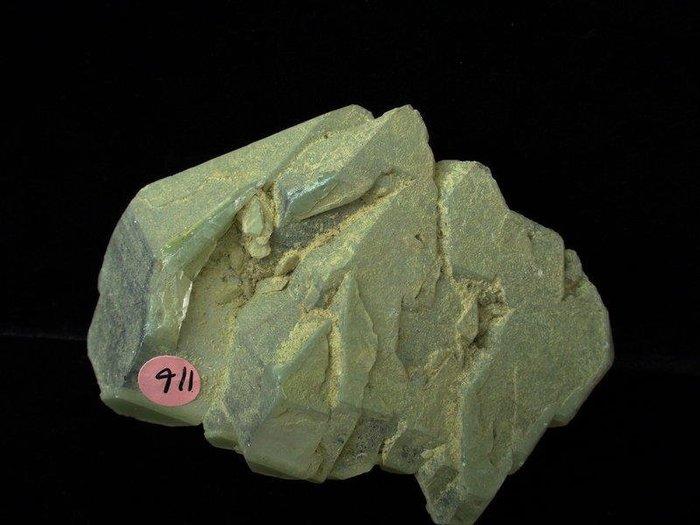~shirley 水晶~夢~骨幹水晶~116公克~雙尖綠色亮皮稀有~主正財~低價起標!