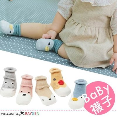 八號倉庫 日系立體動物造型寶寶襪 短襪【2B215M404】