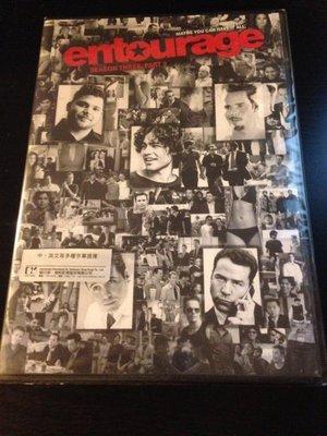 (全新未拆封)大明星小跟班 Entourage 第三季 第3季 下 DVD(得利公司貨)