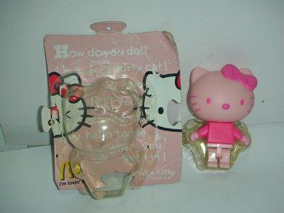 aaL皮1商旋.全新附盒2006年麥當勞發行Hello Kitty Brick凱蒂貓粉紅色公仔!--距今已有12年歷史!