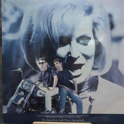 (英版)Pet Shop Boys - What Have I Done To Deserve This 12吋單曲