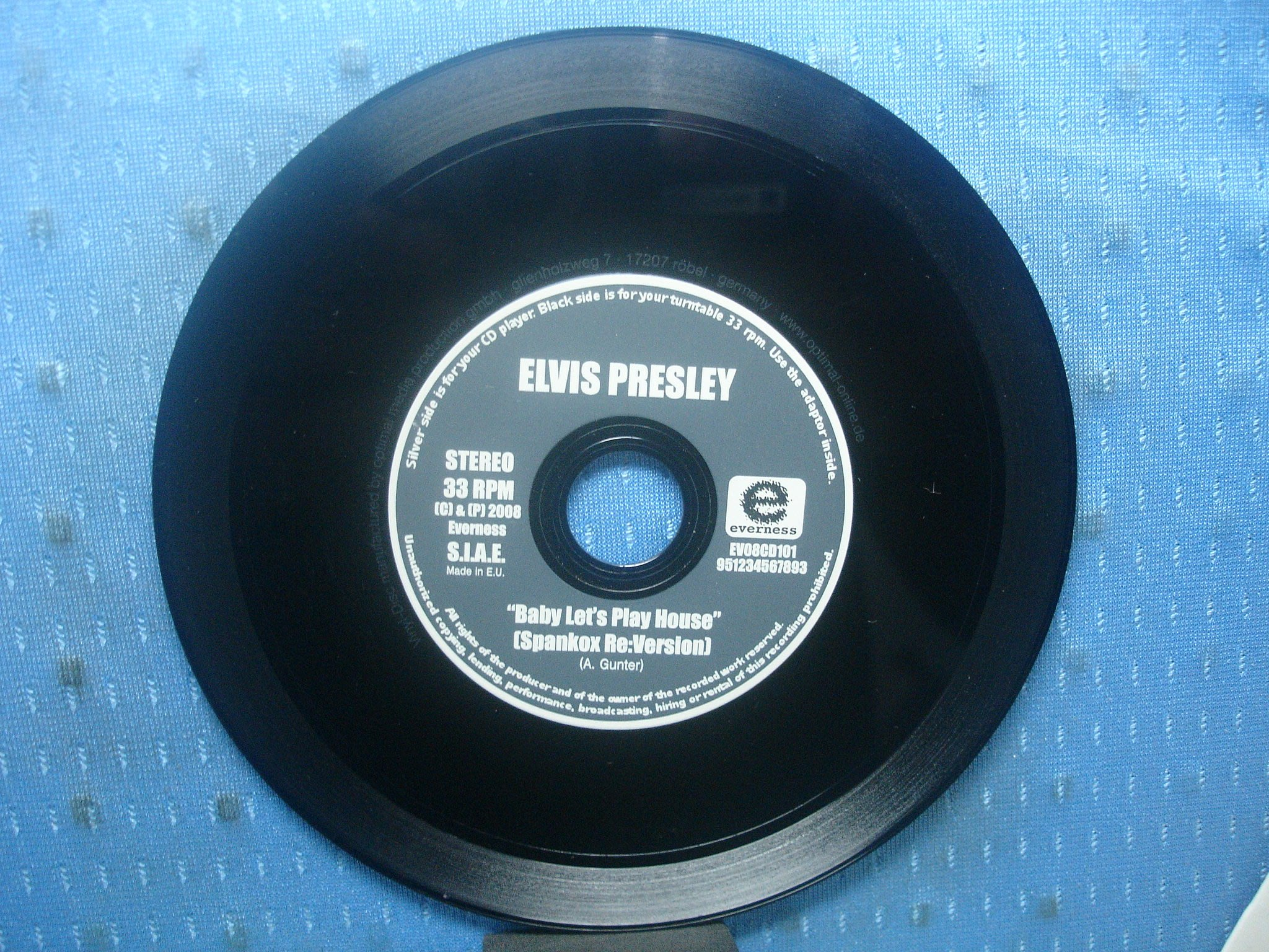 [無殼光碟]HP Elvis Presley BABY LET'S PLAY HOUSE 無ifpi