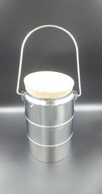 【DSH雙股 】~《保溫用品》高真空寬口保溫桶(液態氮桶) 小型/容量1L