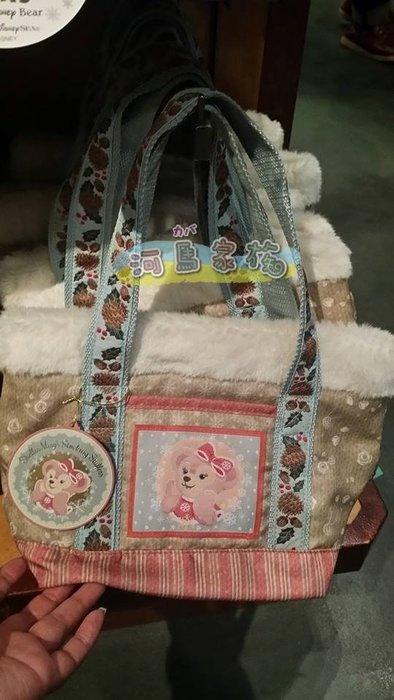 ~河馬家族~日本帶回_東京海洋迪士尼樂園雪麗梅ShellieMay粉色提袋☆現貨
