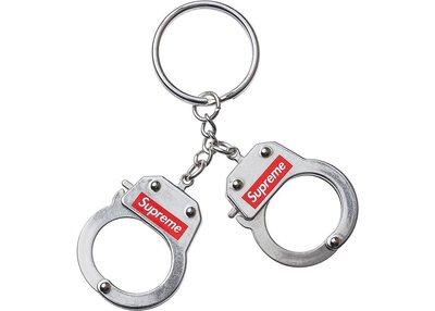 Supreme Handcuffs Keychain FW17 手銬 鑰匙圈 吊飾