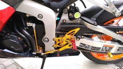 高質感精品CBR600RR可調式賽車腳踏後移.另有CBR1000RR.R1.R6.R3.忍者.GSX...等等等