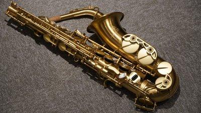§唐川音樂§【Forestone GX PRO Alto Saxophone HG 髮絲紋金 中音薩克斯風】