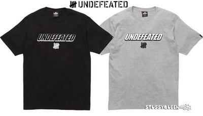 【超搶手】全新正品 2013 S/S 夏季 UNDEFEATED HEADLINE SS TEE 白 灰 藍 S M L
