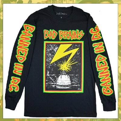 【三分之二】BAD BRAINS Capitol  //復古潮流/LONG/Tee