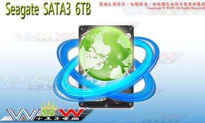 【WSW 硬碟】希捷 新梭魚 SATA3 6TB 自取5280元 ST6000DM003 6T 全新盒裝公司貨 台中市