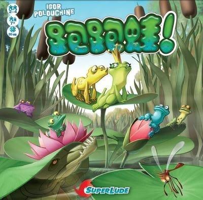 ☆快樂小屋☆【免運】 Croak 跑跑蛙 中英雙語版 正版桌遊 台中桌遊