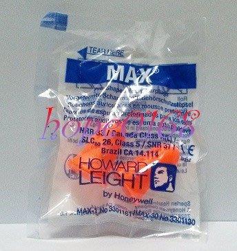 HOWARD LEIGHT MAX-1鐘形不帶線防音耳塞 33dB 預防噪音 保護聽力 10付60元