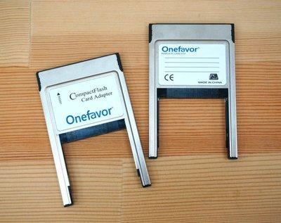 【中壢NOVA-水世界】Onefavor CF 轉 PC PCMCIA 適配器 轉接卡 卡套 工業設備 CF-PC讀卡器